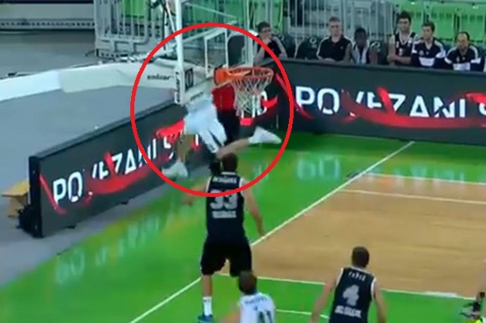 (VIDEO) KOŠ KAKAV SE RETKO VIĐA: Pogledajte zašto će Mahkovic celog života pamtiti meč sa Partizanom
