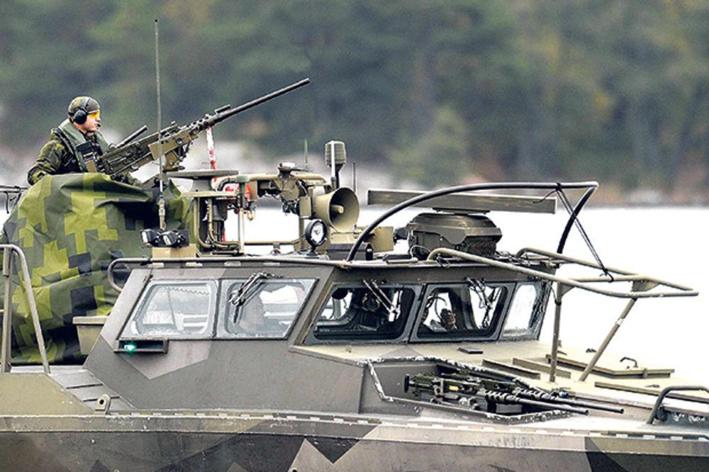 NAPETO: Šveđani digli vojsku na rusku podmornicu