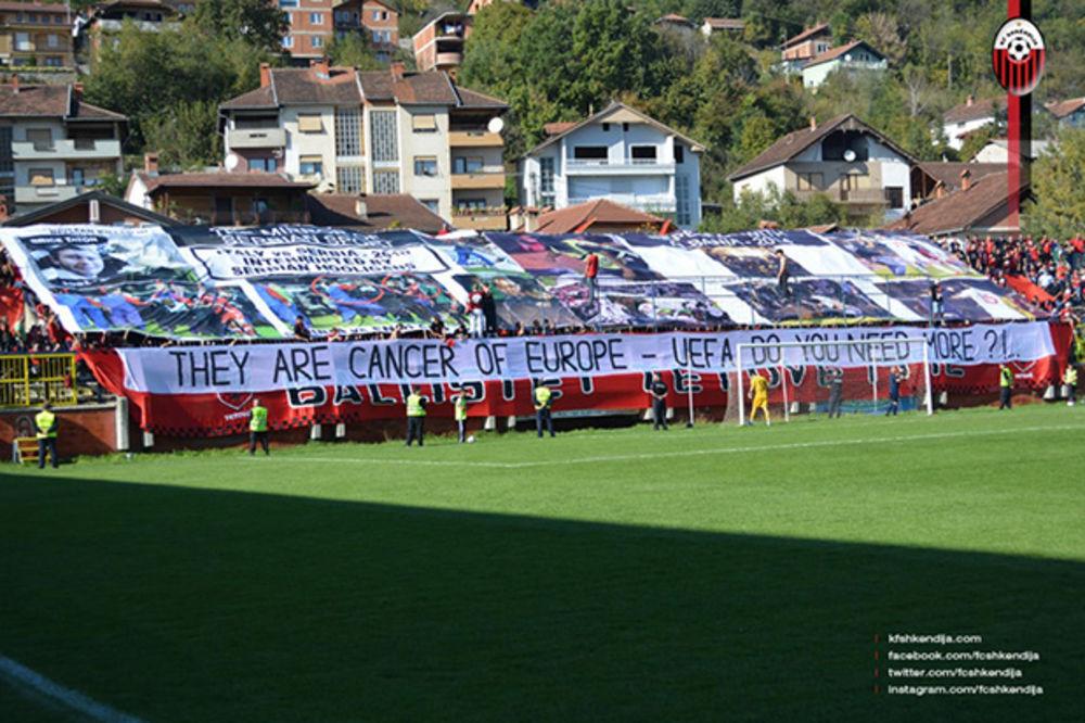 SRAMNA KAMPANJA ALBANACA SE NASTAVLJA: Srbi su kancer Evrope
