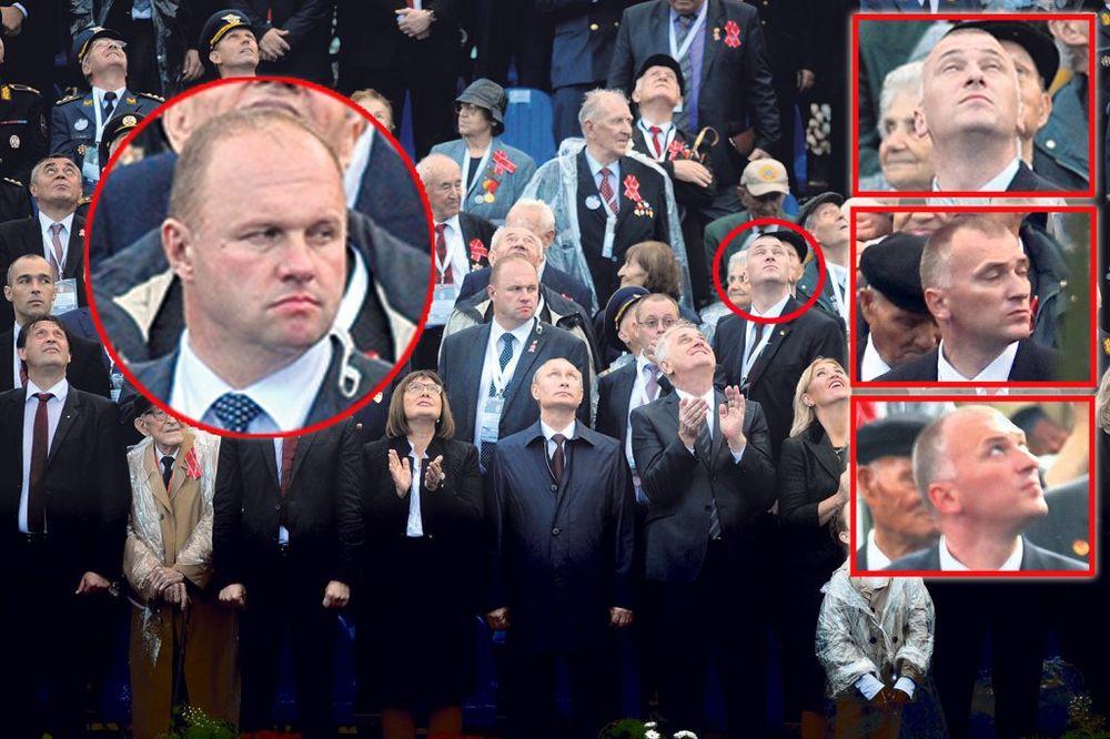 GLINENI GOLUB: Predsedniče Nikoliću, gde ti blene obezbeđenje?!