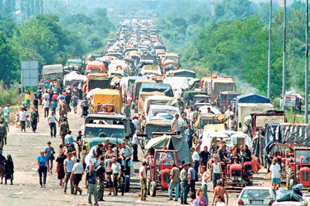 SKANDAL: Hrvati paradom slave progon Srba