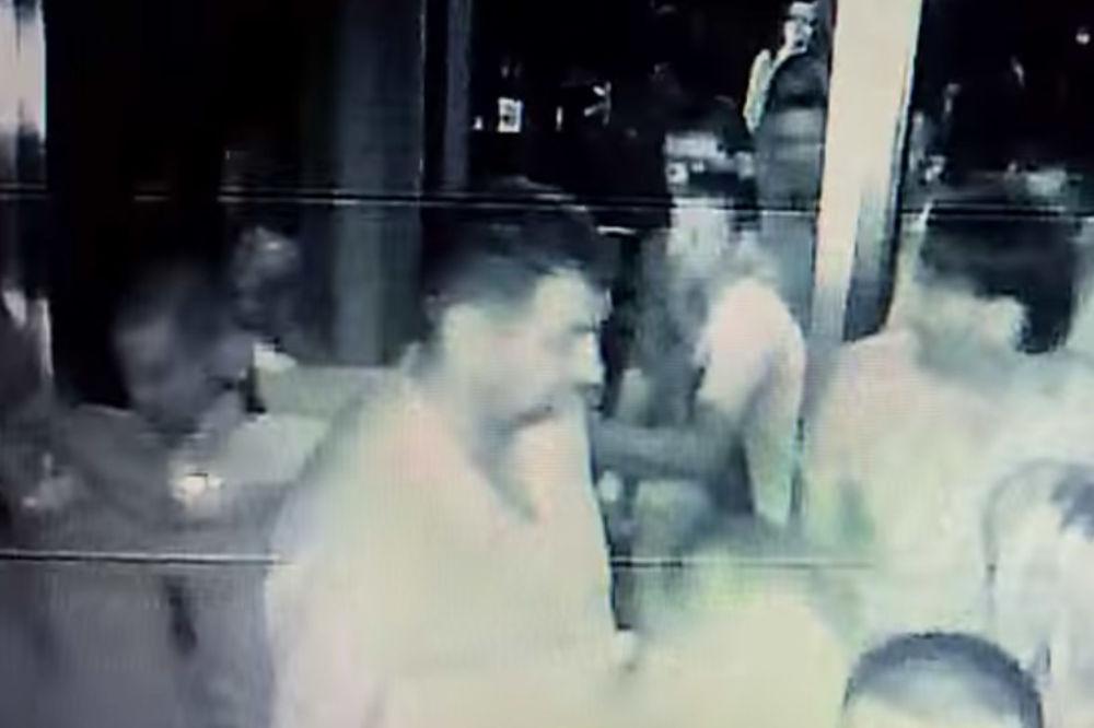 (VIDEO) Pogledajte snimak ubistva kik-boksera Jovana Kosaća!