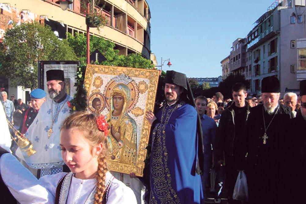 Čačani se poklonili ikoni Trojeručice iz Kalenića
