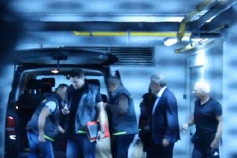 AFERA AGRAM: Pogledajte snimak hapšenja Milana Bandića!