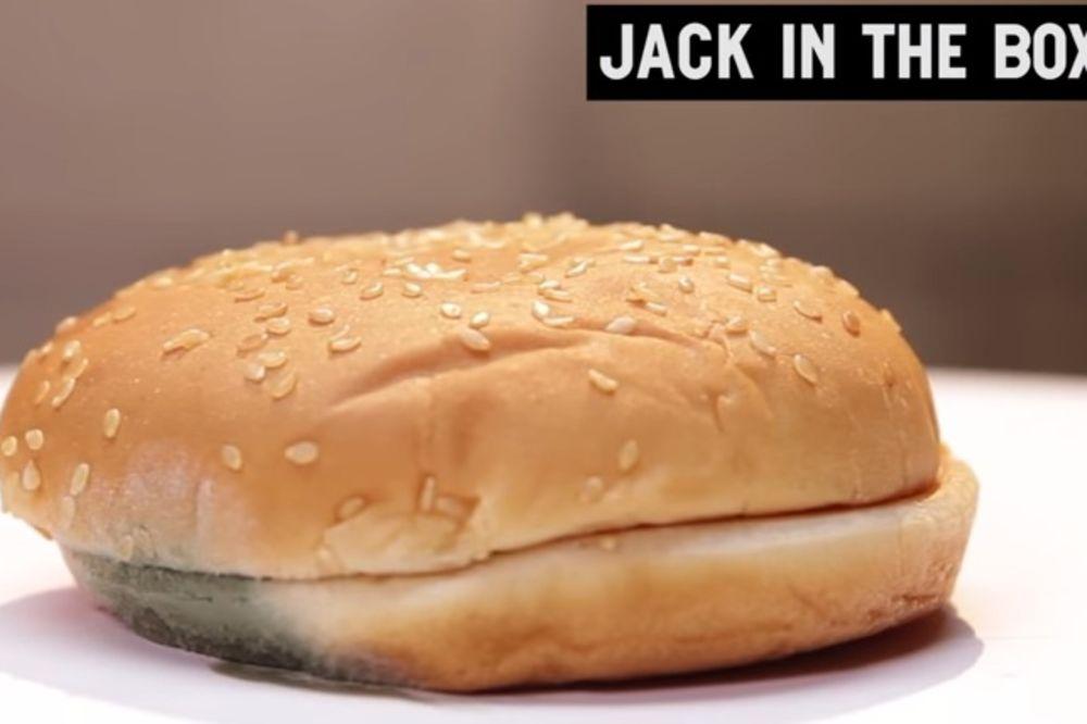 EKSPERIMENT:Šta se dešava sa hamburgerom nakon 30 dana?