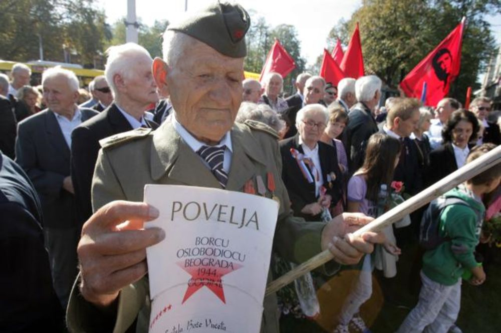 70 GODINA BEOGRADA U SLOBODI: Odata počast partizanima i Crvenoj armiji