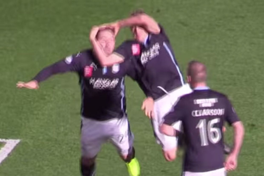 (VIDEO) KAO KEČERI: Pogledajte kako su fudbaleri Dandija proslavili gol