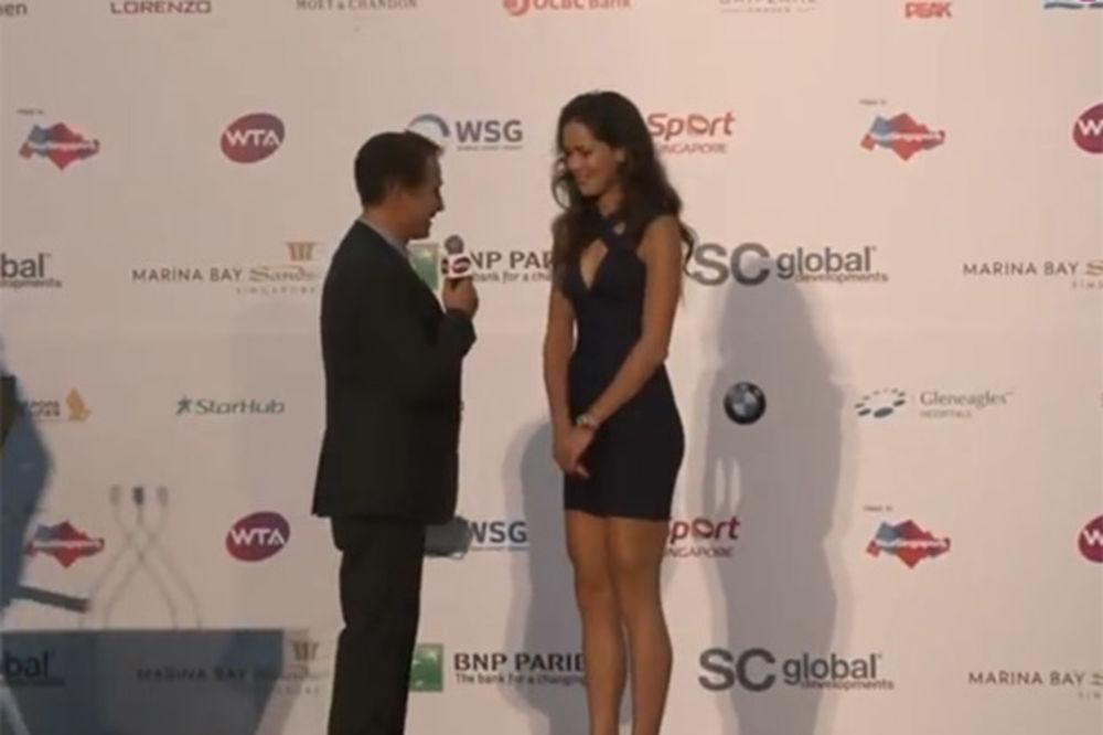 (FOTO, VIDEO) SRPSKA BOGINJA: Ovako seksi Anu Ivanović do sada niste videli