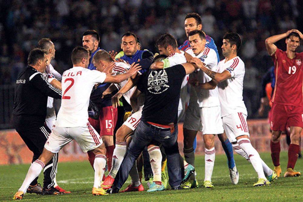 ODLOŽEN DAN D: UEFA u petak saopštava konačnu odluku o meču Srbija - Albanija