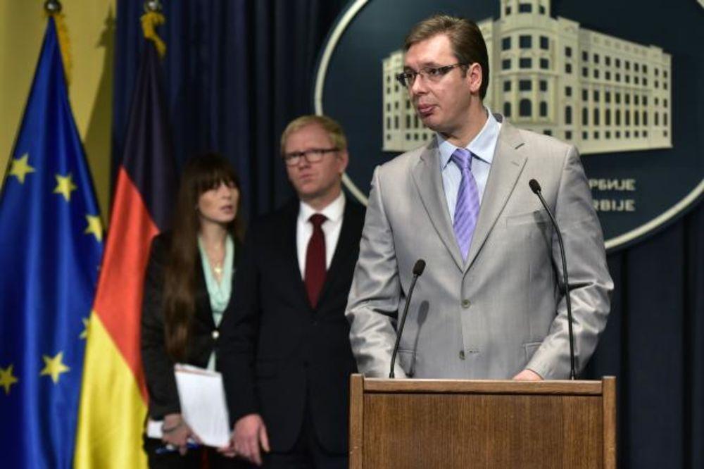Vučić: Očekujem sve više investitora iz Nemačke