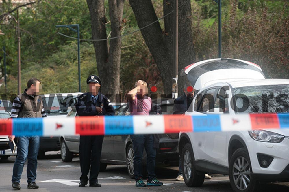 UZBUNA NA KALEMEGDANU: Deaktivirana  bomba sa džipa ruskog državljanina!