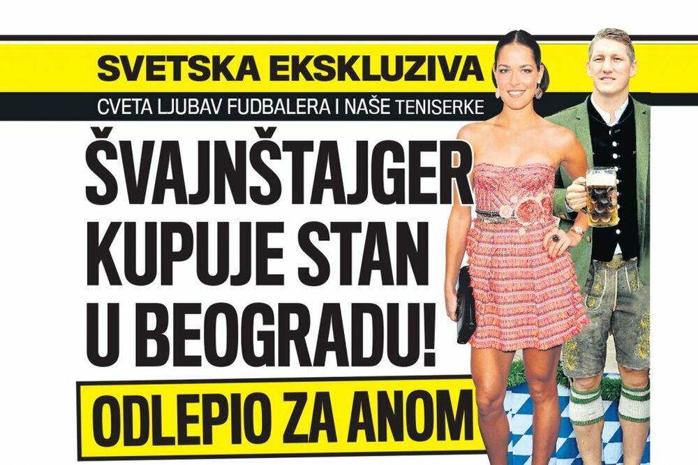 DANAS U KURIRU ODLEPIO ZA ANOM: Švajnštajger kupuje stan u Beogradu!
