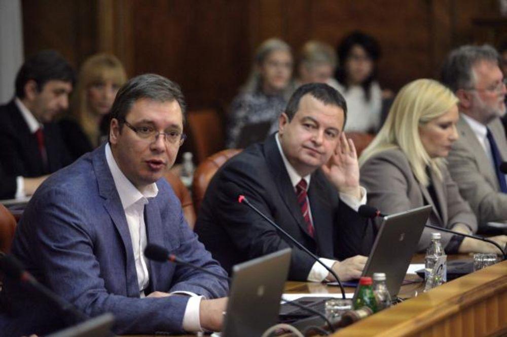 SEDNICA VLADE SRBIJE: Usvojen predlog rebalansa budžeta