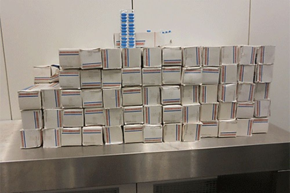 Indijci pokušali da prošvercuju 50.000 tableta protiv bolova!
