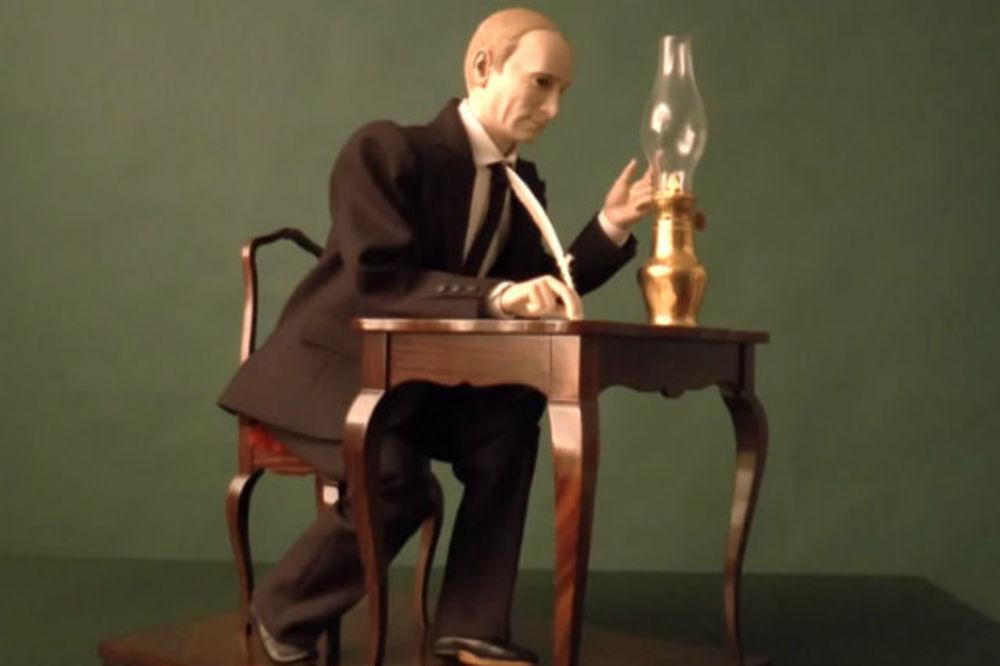 (VIDEO) PUTIN MARIONETA: Napravili lutku koja se predsedniku Rusije neće svideti!