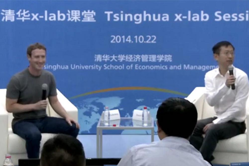 OBRATIO SE STUDENTIMA: Mark Zakerberg progovorio kineski jezik