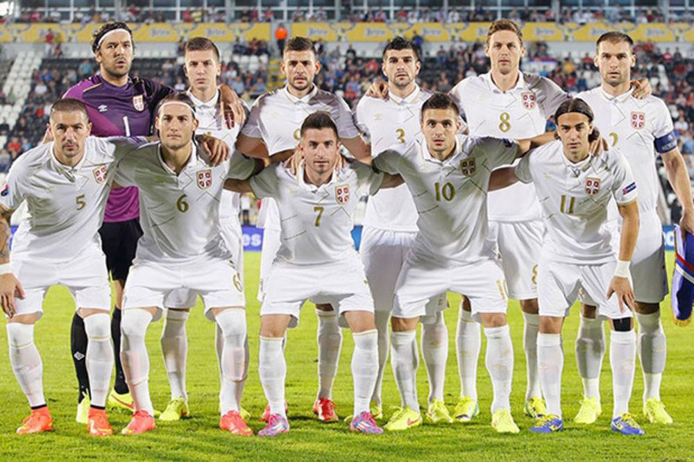 NAPRAVILI TRI KORAKA NAZAD: Reprezentacija Srbije 34. na listi FIFA