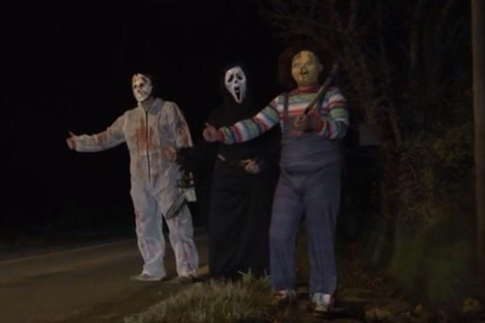 REMI GALJARD BEZ MILOSTI: Pogledajte horor koji je napravio za Noć veštica! (VIDEO)