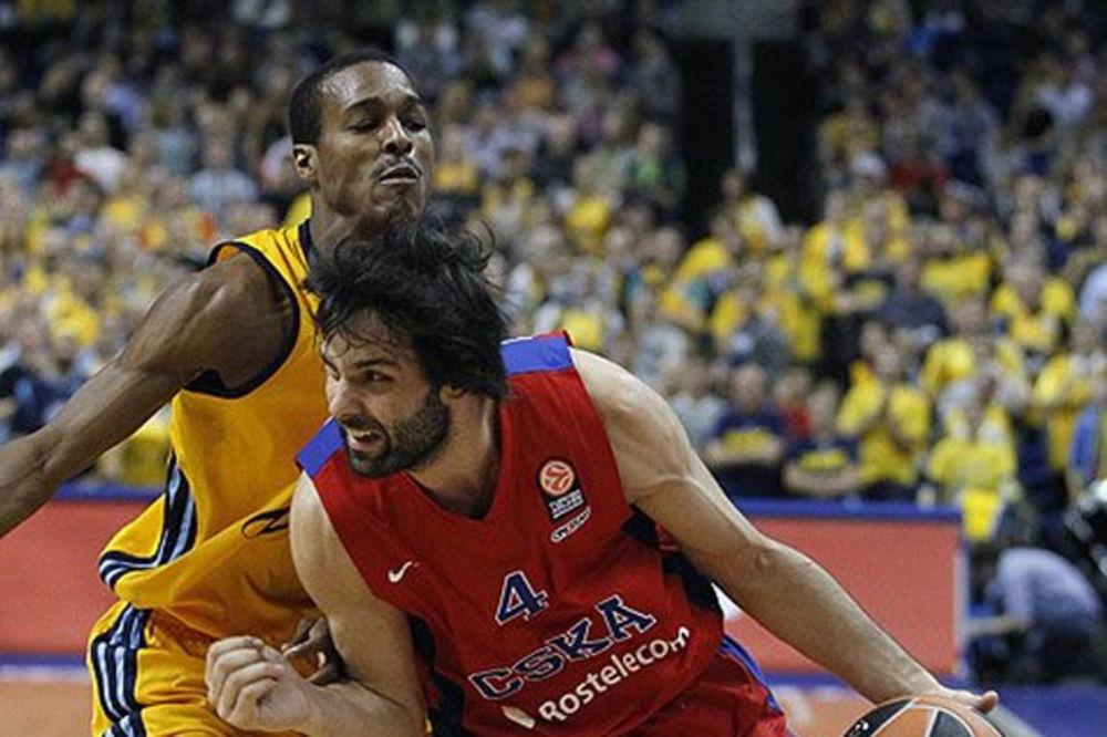 BLOG UŽIVO: Teodosić srušio šampiona Evrope i doneo pobedu CSKA
