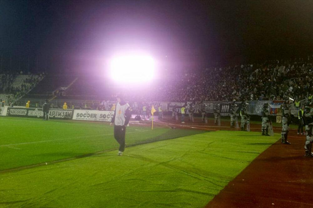 UŽIVO: Škuletić propustio prvu priliku za Partizan - 0:0