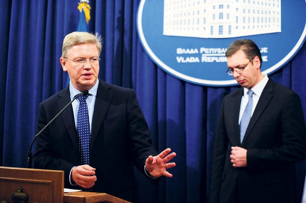 Vučić: Radimo punom parom, ne treba nam milostinja