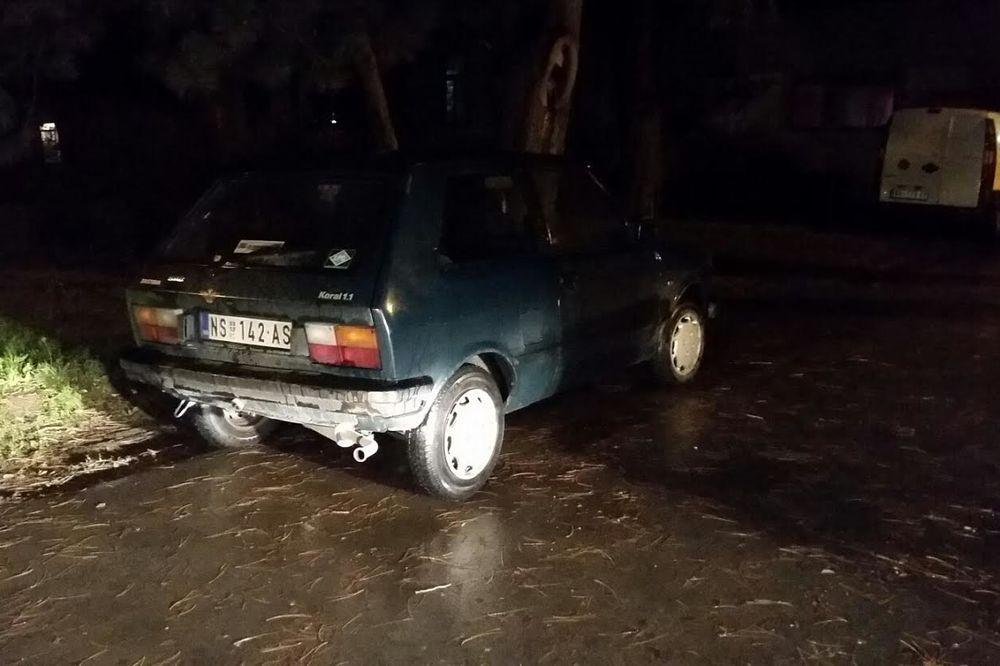 PREGAZIO DEČAKA I POBEGAO: Pijani vozač parkirao juga i otišao ne čekajući policiju!