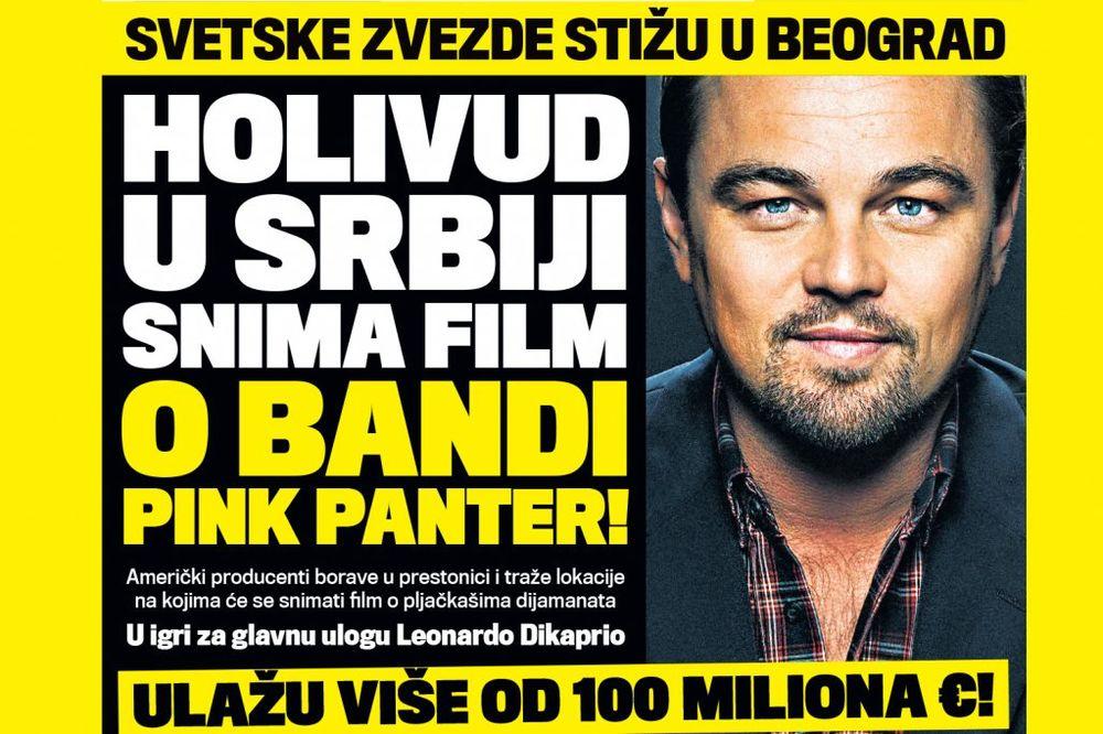 DANAS U KURIRU ULAŽU 100 MILIONA EVRA: Holivud u Srbiji snima film o bandi Pink Panter!
