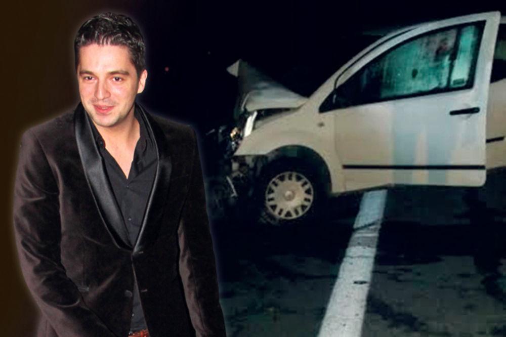 LAKŠE POVREDE: Vladimir Stanojević doživeo saobraćajku!