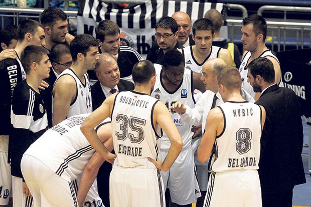 AGONIJA: Užasan start košarkaša Partizana