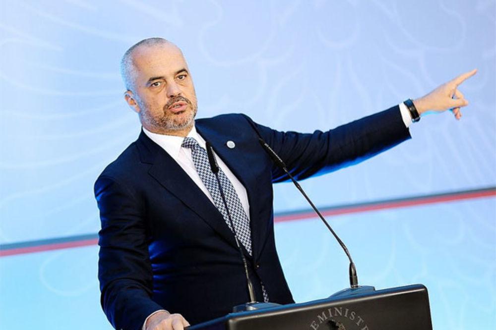 EDI RAMA I DALJE PROVOCIRA: UEFA nije bila pravedna, napred Albanija!