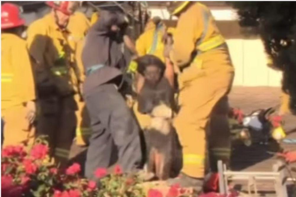 UMISLILA DA JE DEDA MRAZ: Žena se zaglavila u dimnjaku jer je htela da iznenadi bivšeg dečka