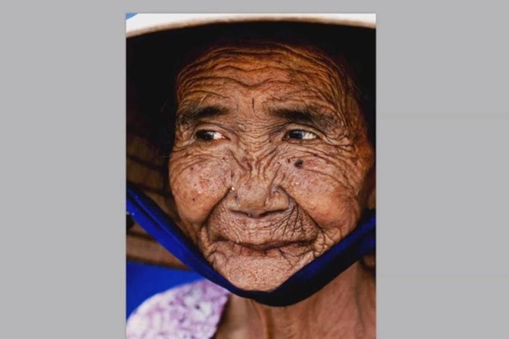 FOTOŠOP MAJSTORI: Baka od 100 godina za par trenutaka postala devojka