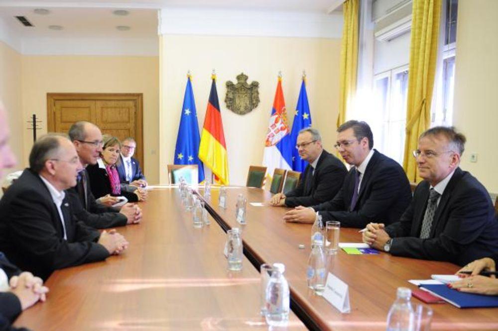 SUSRET U VLADI: Vučić sa delegacijom Bundestaga