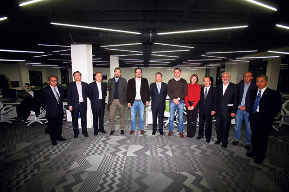 FOTO: Gosti iz Kine u poseti Adrija medija grupi!