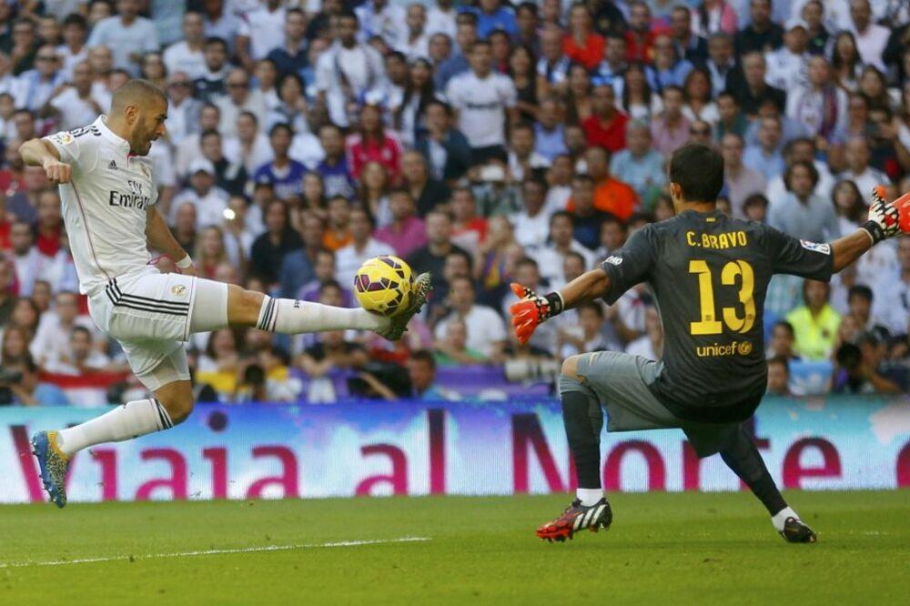 (VIDEO, FOTO) UŽIVO: Benzema nagovestio debakl Barselone - 3:1