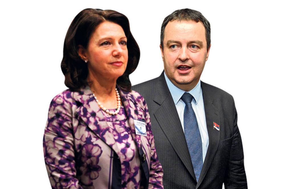 DSS: Dačić je politički perverznjak   Dačić: DSS ne bi pomogla ni Trojeručica