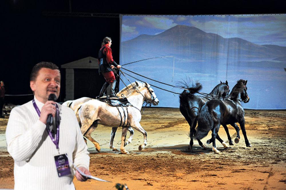 AKROBACIJE: Bogdana Obradovića oduševili konji u Areni