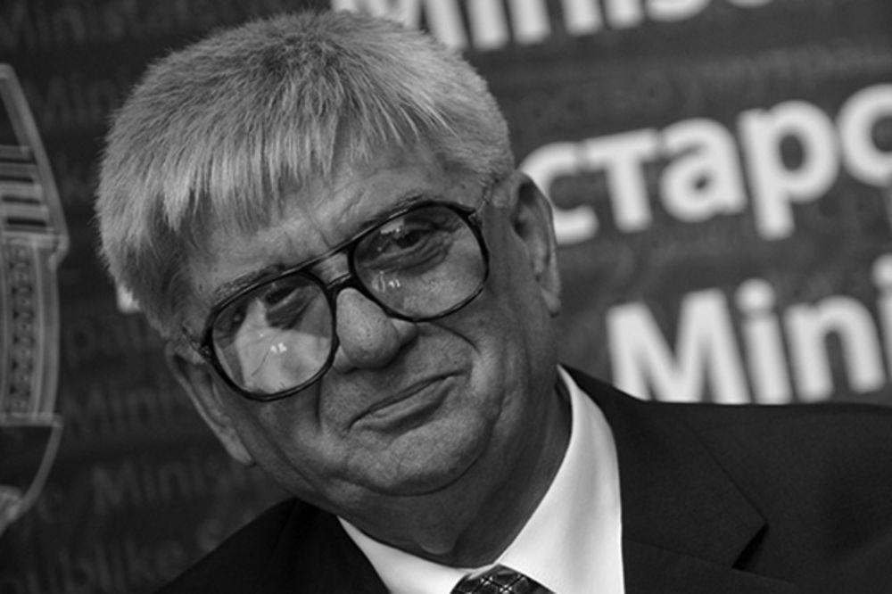 Preminuo  bivši šef MUP Radmilo Bogdanović