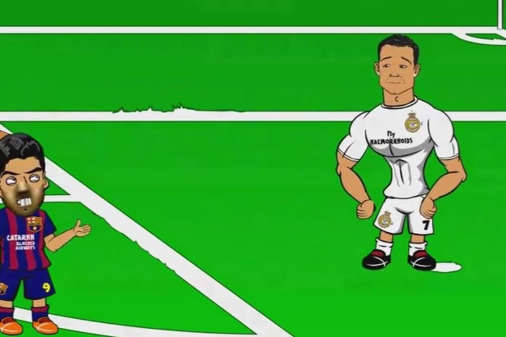 (VIDEO) ANIMIRANI FILM: Ronaldo proziva Mesija kojeg nema