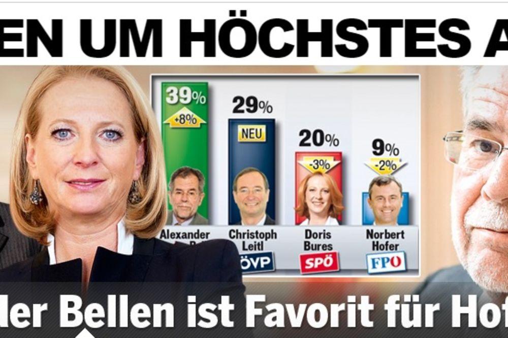 ŠANSA ZELENIH: Van der Belen favorit za predsednika Austrije!