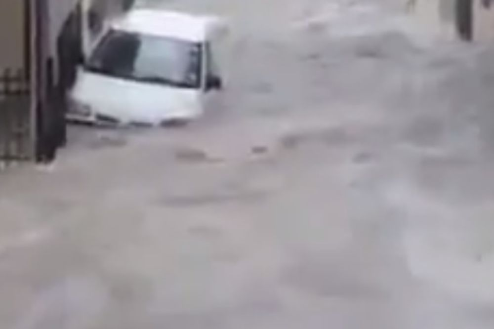 (VIDEO) URAGAN U GRČKOJ: Pogledajte kako izgleda Atina pod vodom!