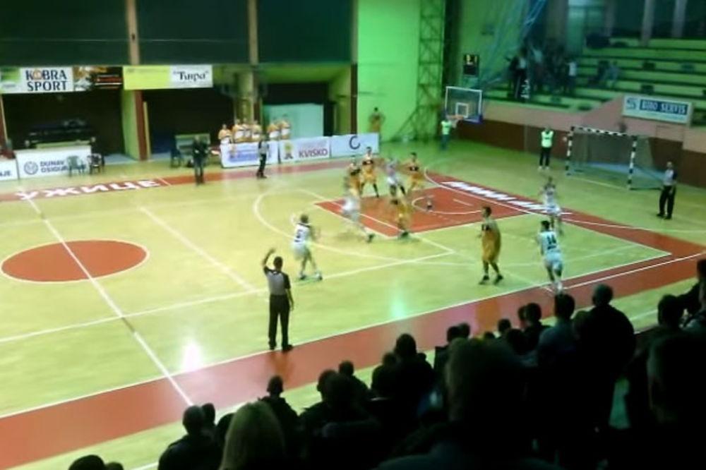 (VIDEO) BRŽI OD KECMANA: Košarkaš Slobode postigao trojku 0,3 sekunde pre kraja meča!