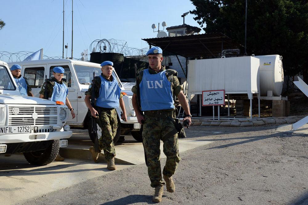 EKSKLUZIVNI SNIMAK: Evo šta rade srpski vojnici u Libanu!