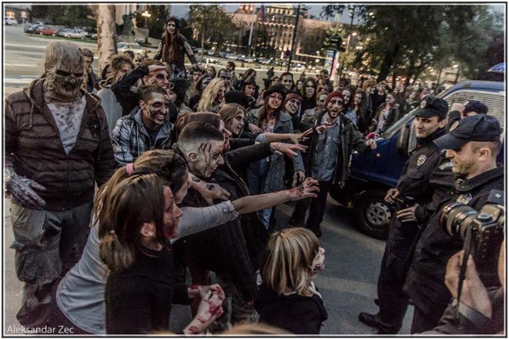 (FOTO) HOROR U CENTRU BEOGRADA: Utvare okupirale centar prestonice!