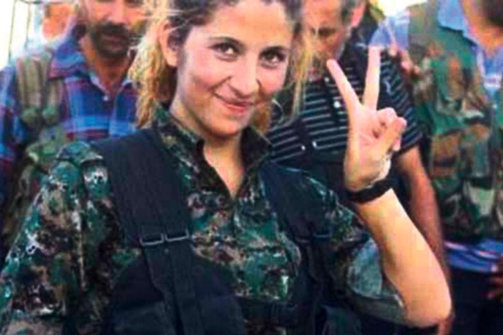 OPET PREVARA: Evo šta se krije iza mita o ženi borcu protiv terorista iz Sirije!