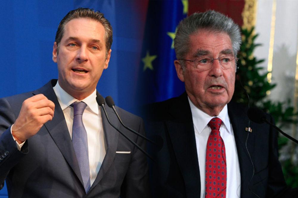 Štrahe napao predsednika Austrije jer hoće da zaposli azilante!