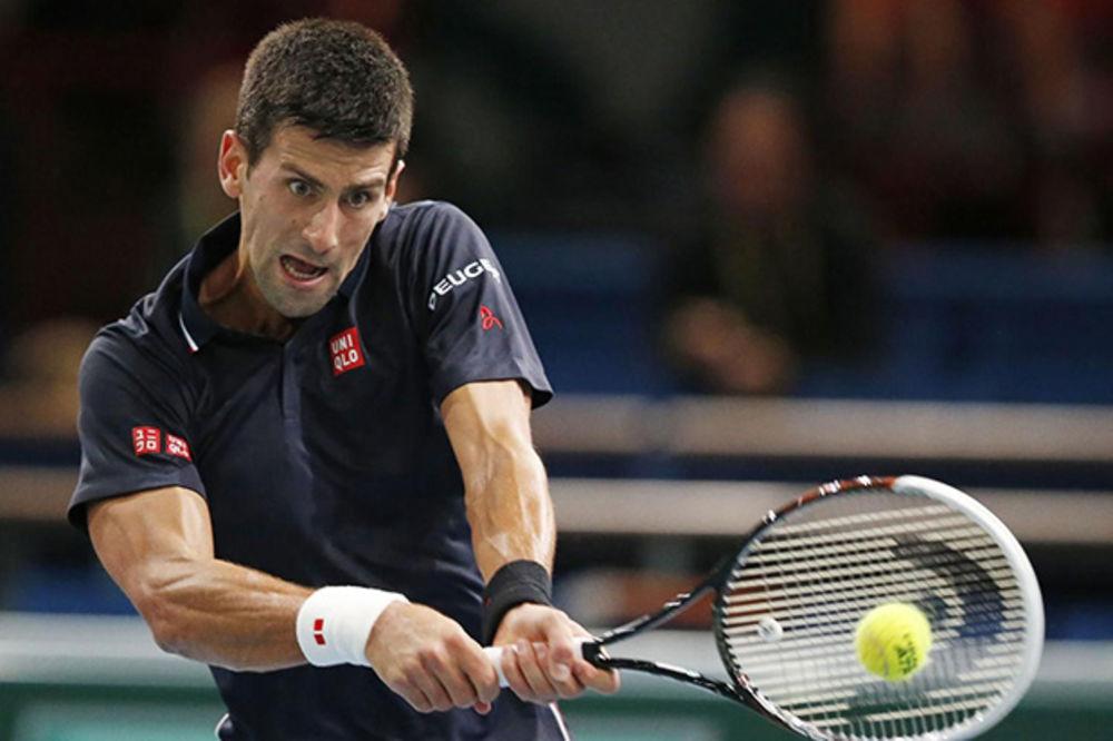 JURIŠA NA NOVU TITULU: Đoković pregazio Mareja u četvrtfinalu Mastersa u Parizu