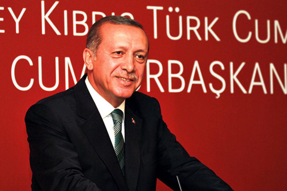 Erdogan u palati od 275 miliona evra