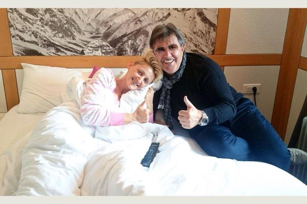KOLEGE JOJ DAJU SNAGU: Šerif Konjević posetio Donu Ares u bolnici!