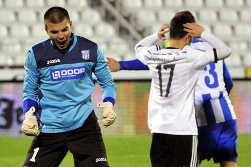 (VIDEO) CRNO-BELI PROSIPAJU BODOVE: Partizan remizirao sa OFK Beogradom